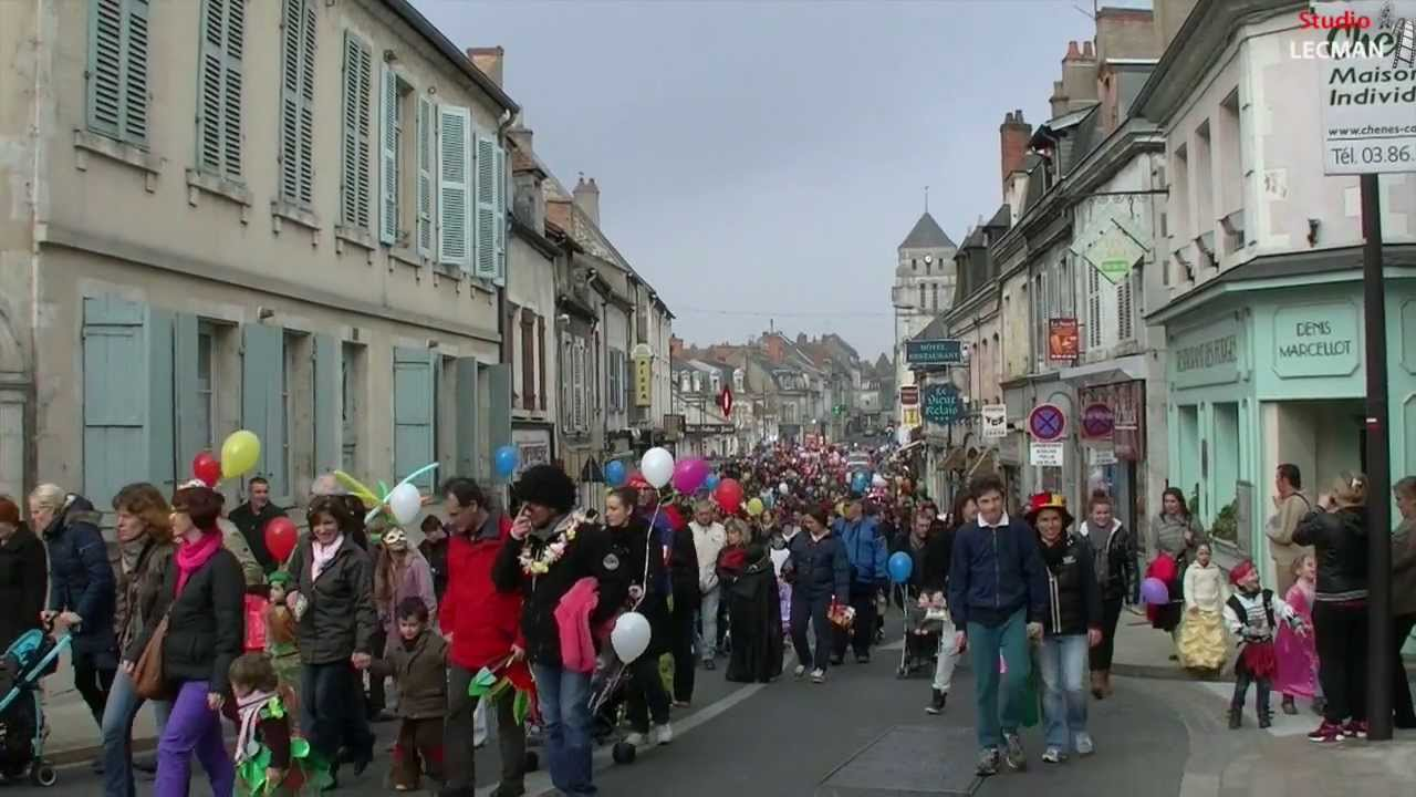 carnaval de cosne cours sur loire 2014 par le studio lecman youtube. Black Bedroom Furniture Sets. Home Design Ideas