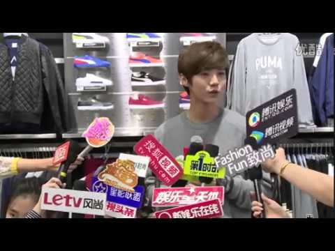 LUHAN❤鹿晗❤ 揭幕上海恒基名人专卖店(Shanghai Henderson celebrity store opening)