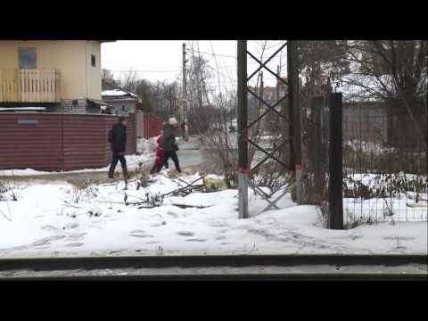 Электричка сбила семью в Подмосковье