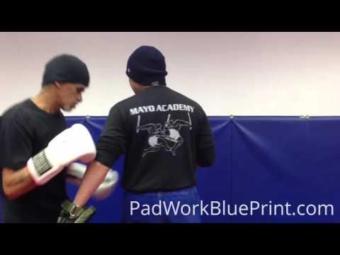 Focus Mitt Boxing Combinations 35 Pad Work Combos Focus Mitt Drills