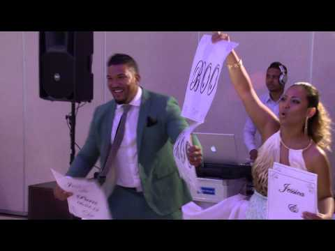 Funniest Grand Entrance Ever at the Wedding Reception Mississauga Wedding Videographer Toronto