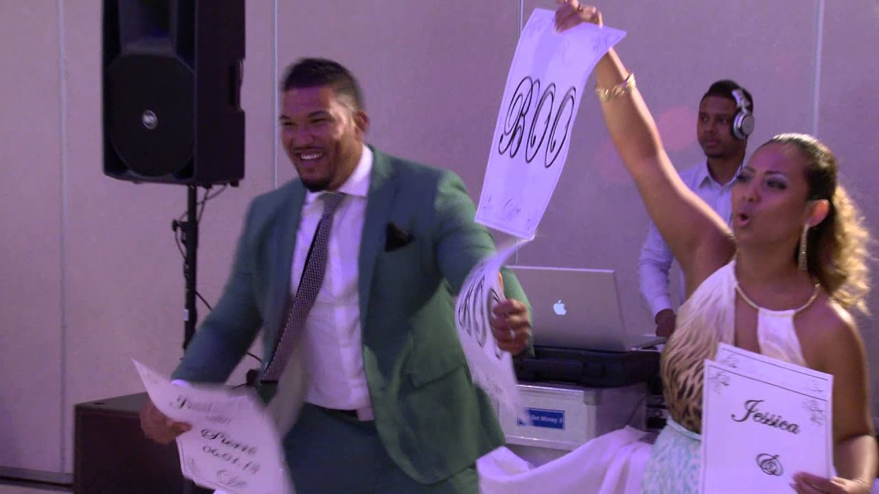 A Funny Wedding Reception Entrance Video | Toronto Wedding ...
