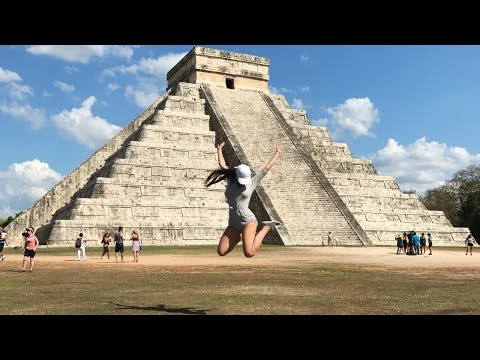 Mexico Changed My Life   Exploring The Mayan Ruins of Chichen Itza   Spring Break Travel Vlog 2017