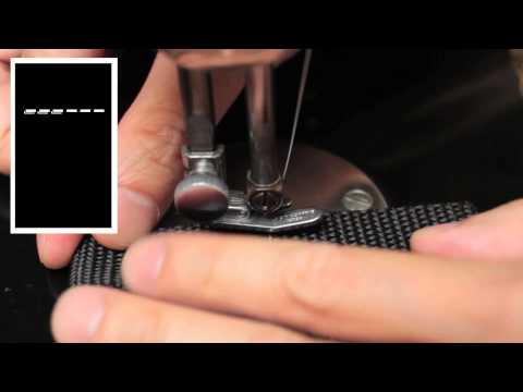 """Webbing Planners, Part 4: How to Do the """"Box X"""" Stitch"""