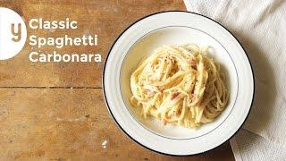 How to Make Classic Carbonara  Yummy Ph