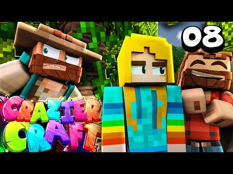 """I LEFT HER A GIANT... PRESENT!!"" |  Minecraft Crazier Craft SMP Episode 8"