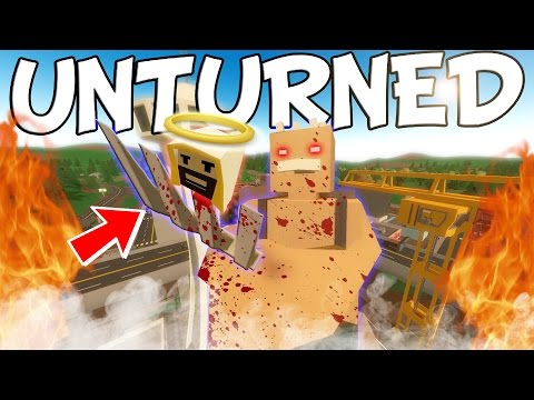 Unturned Funny Moments With Friends - ADAM'S BREAKDOWN!