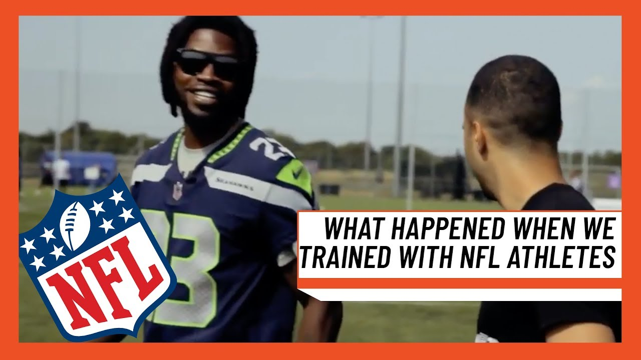 What Happened When MH Trained With Pro NFL Athletes