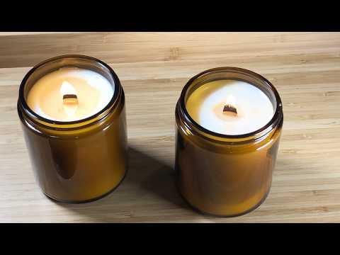 Woodwick Candle by LightOnMe Candles