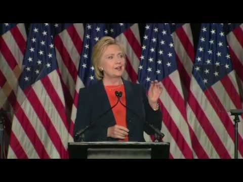 Hillary Clinton FULL Speech On National Security. Trump 'temperamentally unfit' for White House