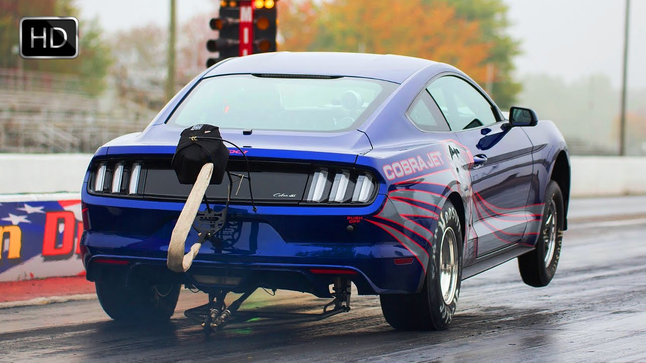 2016 Ford Mustang Cobra Jet Drag Racer With 1000hp 5 0l Supercharged