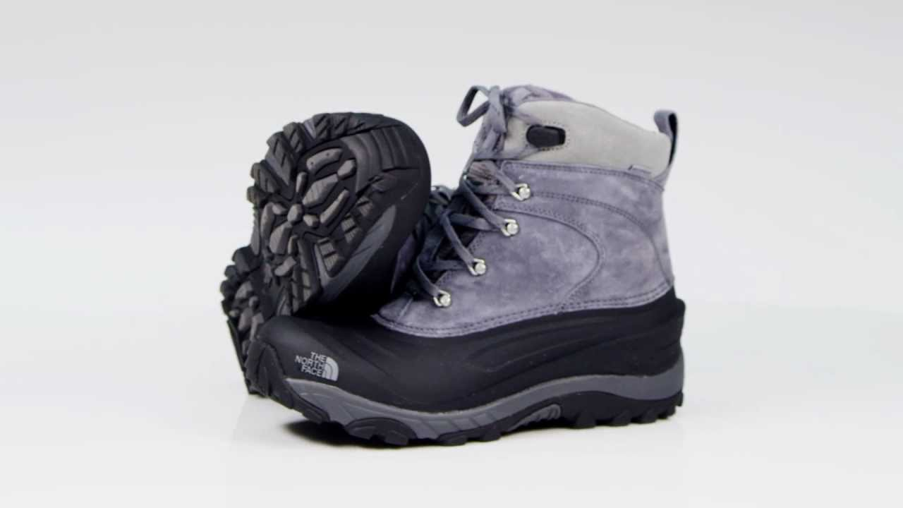 341bea12aee5 The North Face Men s Chilkat II Snowboots - YouTube