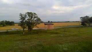 Чечня из окна поезда Волгоград-Грозный, июнь 2017