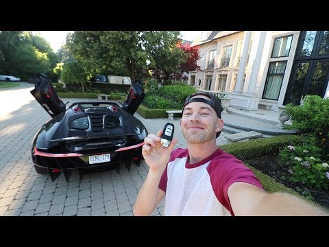 Casually DRIVING a $2.75Million Lamborghini Centenario Roadster