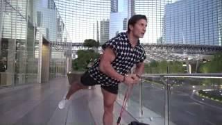 Упражнения с эспандером для ног
