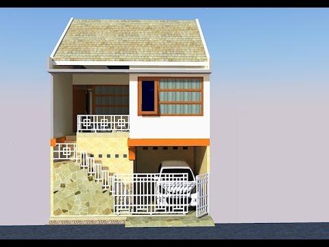 720 Koleksi Gambar Rumah Sederhana Lahan Sempit Terbaik