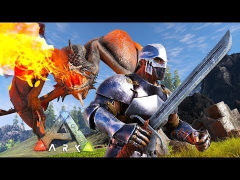 ARK: Survival Evolved - TAMING A WYVERN DRAGON!! (ARK Ragnarok Gameplay)