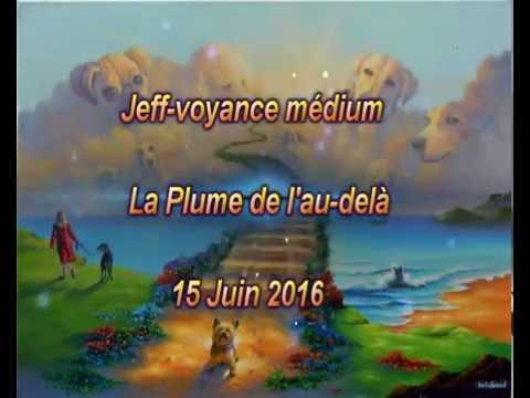 La plume de l'au delà avec Jeff Voyance médiumnité en public 15 Juin 2016