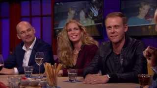 Armin van Buuren  over zijn inspiratiebron Ben Liebrand - RTL LATE NIGHT