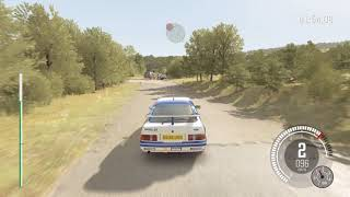 Dirt Rally gameplay ford sierra.