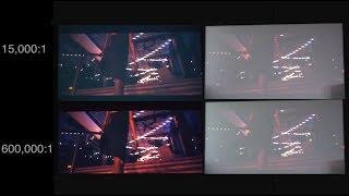 BEST Projector Contrast Ratio Demo