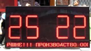 Спортивное табло (3000 х 1500 х 130 мм)(, 2014-07-15T12:54:56.000Z)