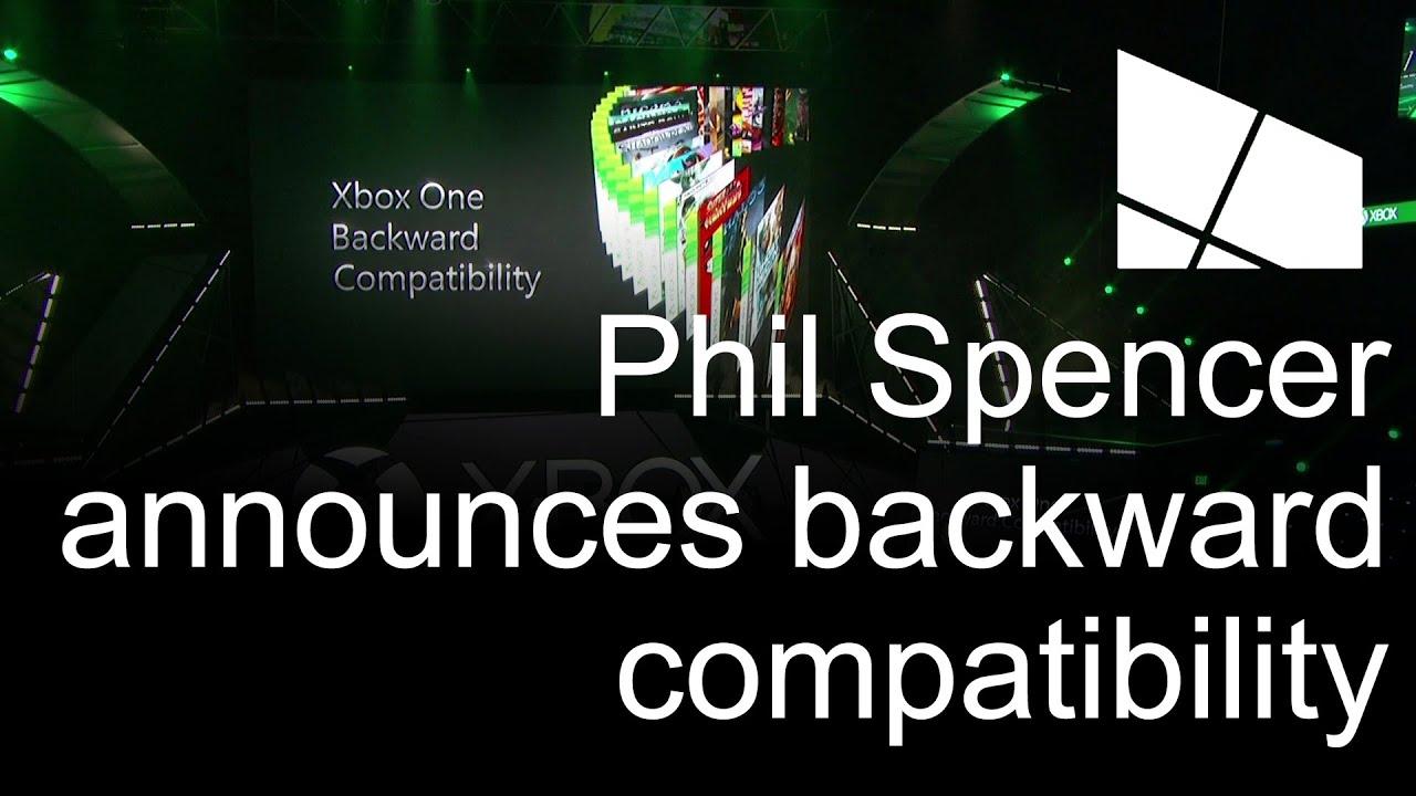 E3 2015: Phil Spencer announces Xbox One backward compatibility