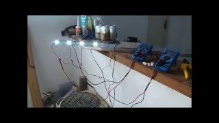 Luminária de Leds 10W para aquario marinho