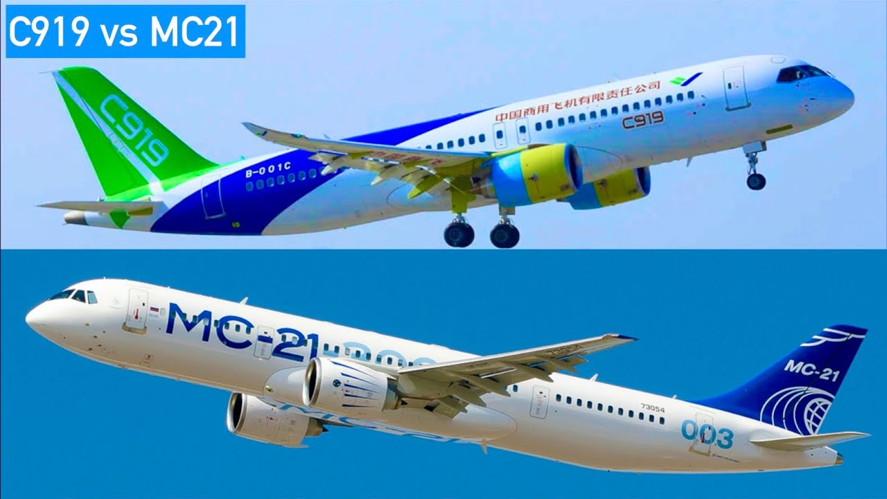 C919 vs MC21: Which NEWCOMER is BETTER? - YouTube