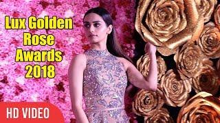 Miss World 2017 Manushi Chhillar at LUX Golden Rose Awards 2018 | Red Carpet