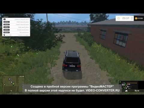 """Farming Simulator 2015)Обзор карты """"село Полевое""""!"""