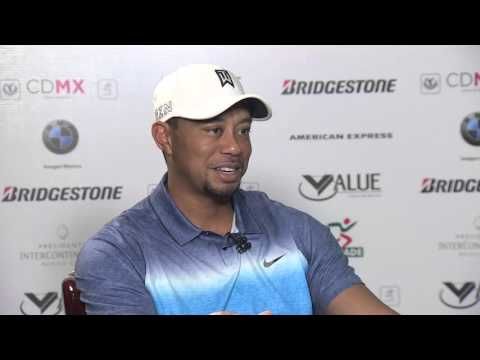 Exclusive interview with Tiger Woods