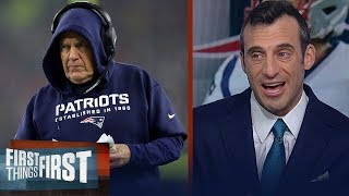 Download Belichick will get weapons for Patriots if he knows Brady's in — Gottlieb   NFL   FIRST THINGS FIRST Mp3 and Videos