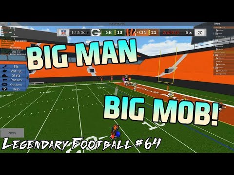 BIG MAN BIG MOB! [Legendary Football Funny Moments #64]