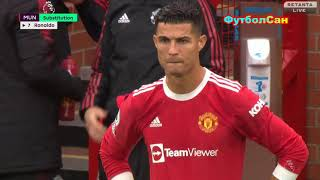 МЮ Эвертон 1 1 без CR забили с Роналду едва не проиграли АПЛ 2021 22
