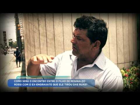 Geraldo Luis encontra ex-engraxate que virou braço direito de Reginaldo Rossi