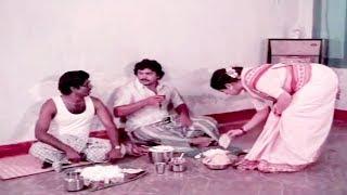 ஆட்டுக்கால் சூப் சூப்பர் அக்கா மாமாவுக்கு கொடுக்கல #Tamil Food Comedy #Goundamani Prabu Comedy