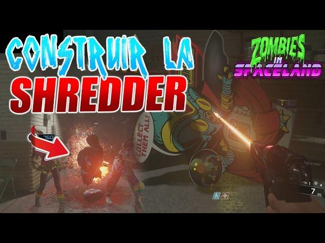Construir la SHREDDER | RayGun Ver.02 | Zombies in Spaceland