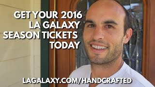 Landon Donovan surprises a Galaxy Season Ticket Member at home to ask him to renew his seats