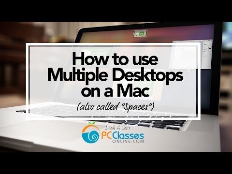 How to Use Multiple Desktops (or Spaces) on a Mac