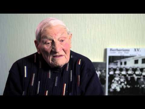 England international Harry Walker turns 100