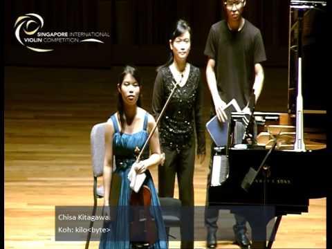 Singapore International Violin Competition Semi-Finals 15 Jan 2015, Session 2.2 (7-9.45pm)