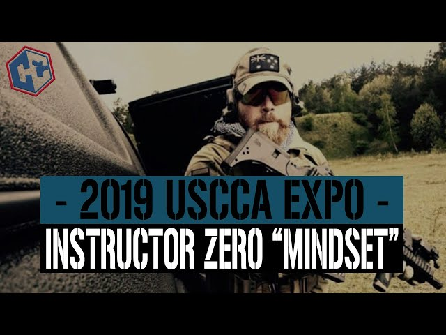Instructor Zero  Talks About Mindset – USCCA Expo 2019 Day 1