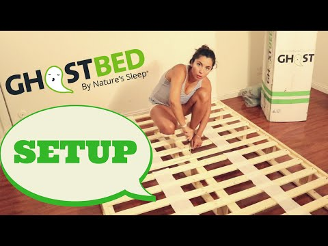 GhostBed Boxspring Foundation Assembly Review, By Girl On The Mattress 💕 Part 1