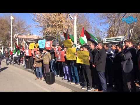 Adıyaman'da İsrail İle Anlaşması Protesto Edildi