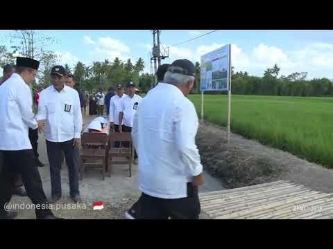 Padat Karya Tunai Di Sumbawa Dinikmati Petani