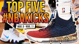 Top 5 Sneakers Worn in the NBA (March 6 - 12 ) | #NBAKICKS
