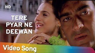 Tere Pyar Ne Deewana (HD) | Zameer - The Fire Within (2005) | Ajay Devgn | Ameesha Patel Thumb