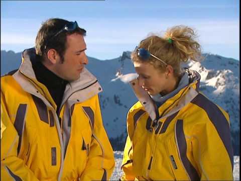 Un gars une fille - au ski dans les Hautes-Alpes