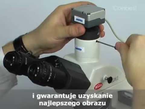 Mikroskop biologiczny b conbest youtube
